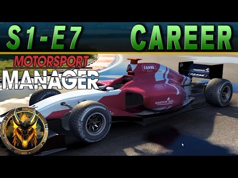 Motorsport Manager PC Career Mode S1E7 - WEATHER THE STORM!