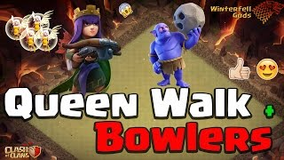 Clash of Clans - Town Hall 11 3-star, Queen Walk, Bowlers - War 238 - Dracarys vs #2