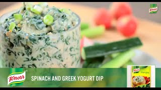 Spinach & Greek Yogurt Dip | Delicious Dip Recipes From Knorr®