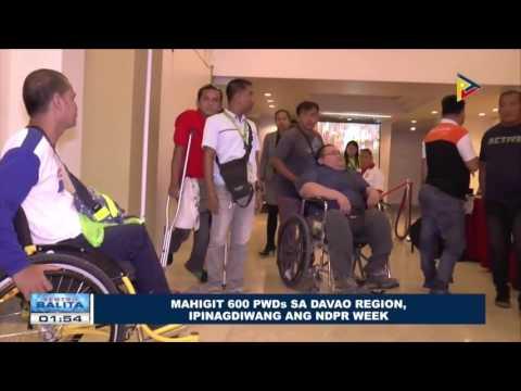 Mahigit 600 PWDs sa Davao region, ipinagdiwang ang NDPR Week