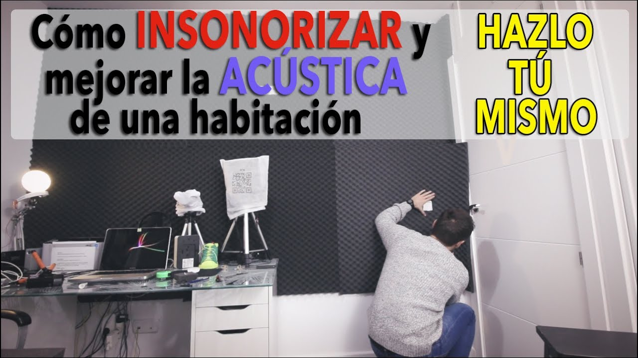Cómo insonorizar una habitación y mejorar la acústica | DIY