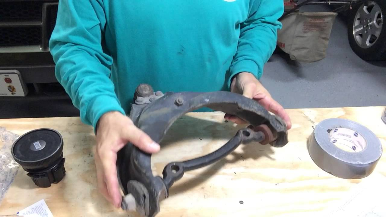 2000 dodge dakota upper control arm replacement tips [ 1280 x 720 Pixel ]