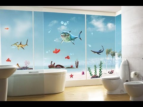 Top 40 Bathroom Paint Design Color Ideas Pictures   DIY Peeling Cracking Bubbling Waterproof 2018