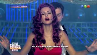 Fer Dente y la China Suárez son Moulin Rouge - Tu Cara Me Suena 2014