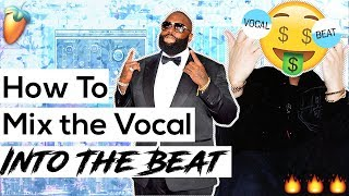 How To Get Vocals To Sit In The Mix (Hip-Hop Vocal Mixing Tips)