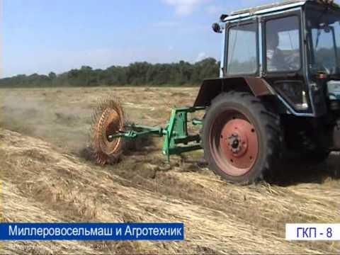 Грабли колёсно-пальцевые ГКП-8