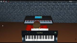 Somebody I Used to Know - Making Mirrors par: Gotye Ft. Kimbra sur un piano ROBLOX. [Revamped]