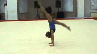 Спортивная гимнастика. Девочки. Хореография.(Обязательная программа 1 разряда (первый взрослый), хореография. Другие видео смотрите на http://cka-spb.ru/, 2015-04-09T14:02:18.000Z)