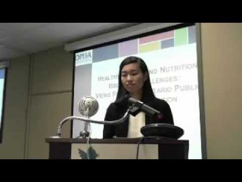 OCDPA Panel Series - Nutrition Action Required for a Change