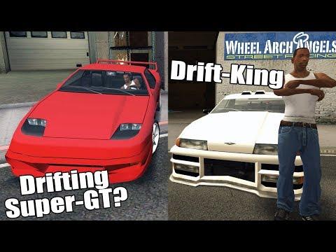 GTA San Andreas Best Drift Cars