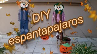 DIY espantapajaros (scarecrow)