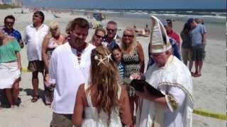 Jax Beach Wedding