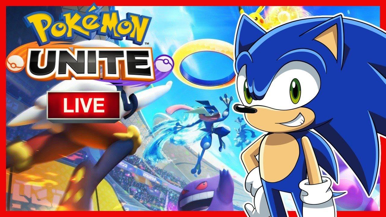 NEW POKEMON GAME!! Sonic Plays Pokemon UNITE Live Stream