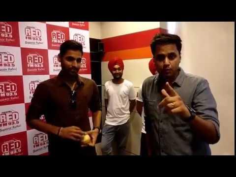 Bhuvneshwar Kumar and Wife Nupur with Rj Raunac | Live In Red FM Studio