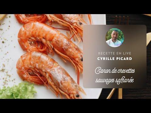 🔴canon-de-crevettes-sauvages-safranée,-chimichurri-aux-cerises-avec-cyrille-picard-👌👨🍳