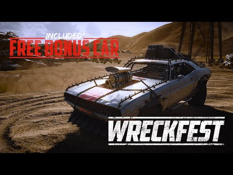 Wreckfest native PS5 and Xbox Series X S upgrade is out now