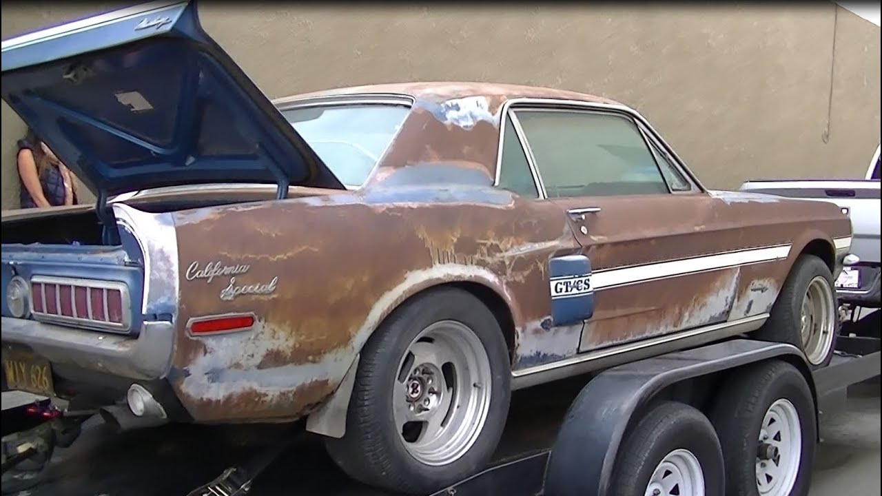 Saved 1968 California Special Mustang Restmod Hotrod