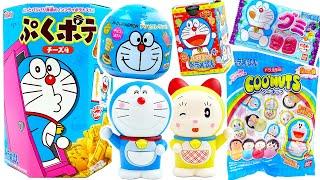 哆啦A夢趣味食玩零食糖果機奇趣蛋不倒翁拆拆樂  Doraemo snacksu0026toys collection