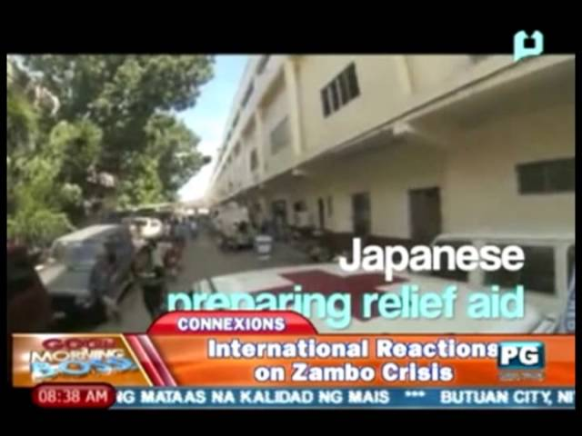 Connexions: 'International reactions' kaugnay sa Zamboanga crisis Travel Video