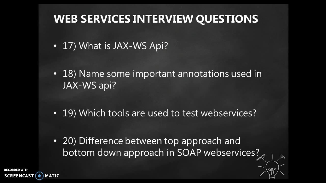 web services interview questions - YouTube
