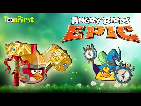 Angry Birds Epic Red Bird And Yellow New Set Item New
