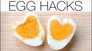 Egg Hacks | How To Make Heart-Shaped Eggs | How To Tell If Your Eggs Are Fresh