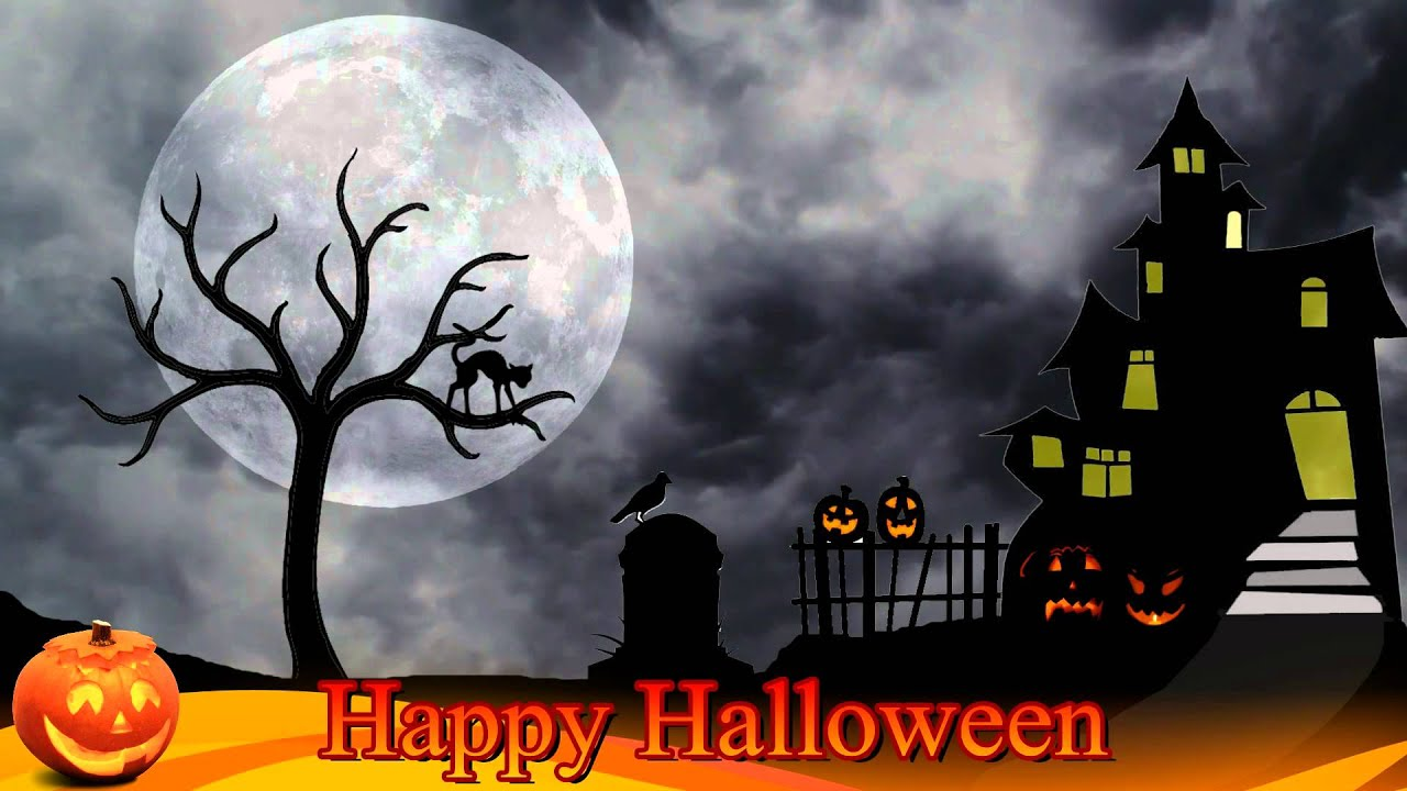 halloween background video free motion background video 1080p hd stock video footage youtube - Halloween Background Video