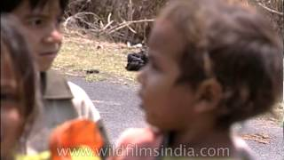 Cute village kids of Corbett - Chhoti Haldwani, Uttarakhand