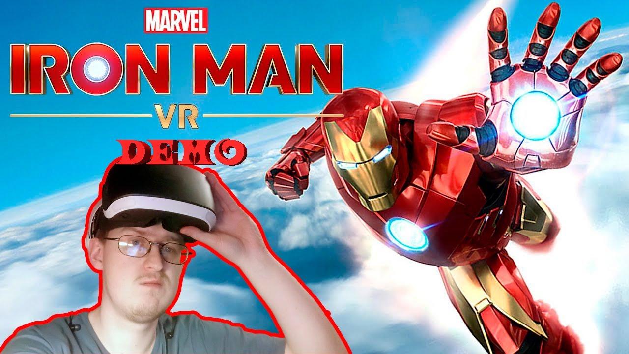 ПОЧУВСТВУЙ СЕБЯ ЖЕЛЕЗНЫМ ЧЕЛОВЕКОМ - Marvel's Iron Man VR (Demo)