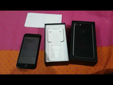 IPhone 7 Chennai Unboxing (Jet Black 128gb ) India