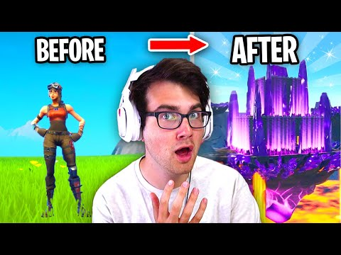 I Gave Fortnite Players 1 HOUR To BUILD ANYTHING For $100... (Fortnite Creative)