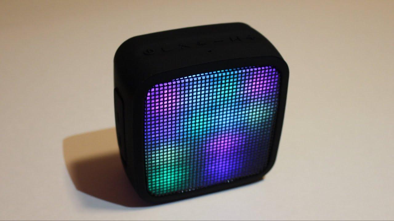 Cool Speaker cool light up bluetooth speaker - youtube