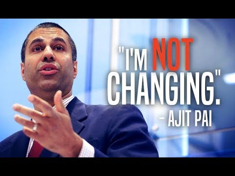 Ajit Pai Makes it Clear He's Not Backing Down From Net Neutrality Repeal