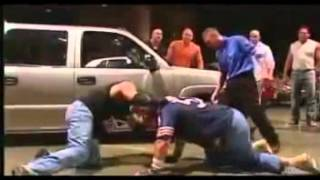 Eddie Guerrero Vs John Cena Latino Heat Parking Lot Brawl