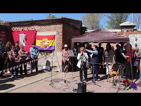 XIII Homenaje a las víctimas del franquismo en Madrid