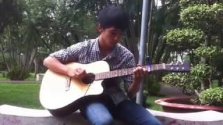 Dễ Thương - Khởi My (Guitar solo)