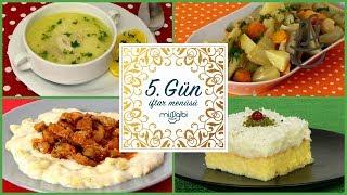 Ramazan 5. Gün İftar Menüsü: Hünkar Beğendi - Tavuk Çorbası - Enginar Yemeği - Gelin Pastası