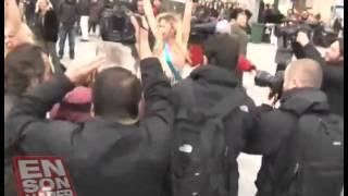 Femen добрались и до Турции.