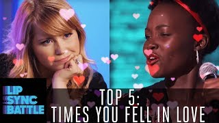 Top 5 Times Lip Sync Battle Made Us Fall in Love 💘 | Lip Sync Battle