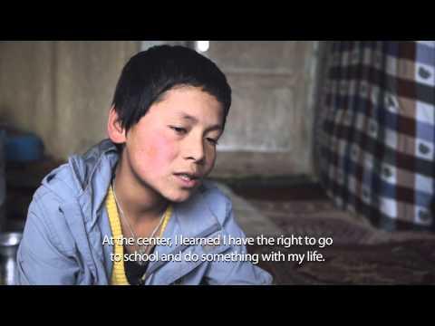 Street working children