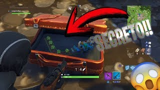 HOW TO FIND THE SECRET BOOMERANG!! -FORTNITE CURIOSITIES AND SECRETS!!