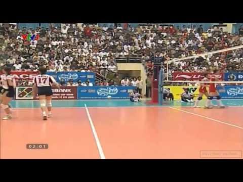 Giải Bóng Chuyền Nữ Quốc Tế VTV Cup 2005[Final]:Vietnam Vs Japan(Denso Airy Bees)