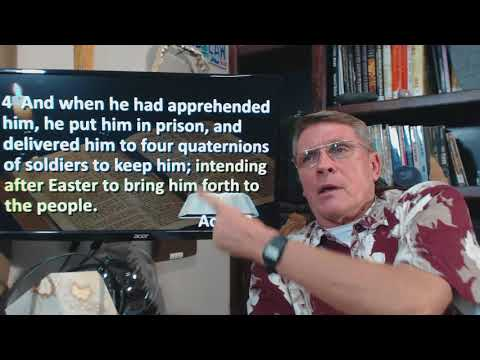 Dr. Kent Hovind Acts 12, Peace during trials, Easter, join us for Christmas!