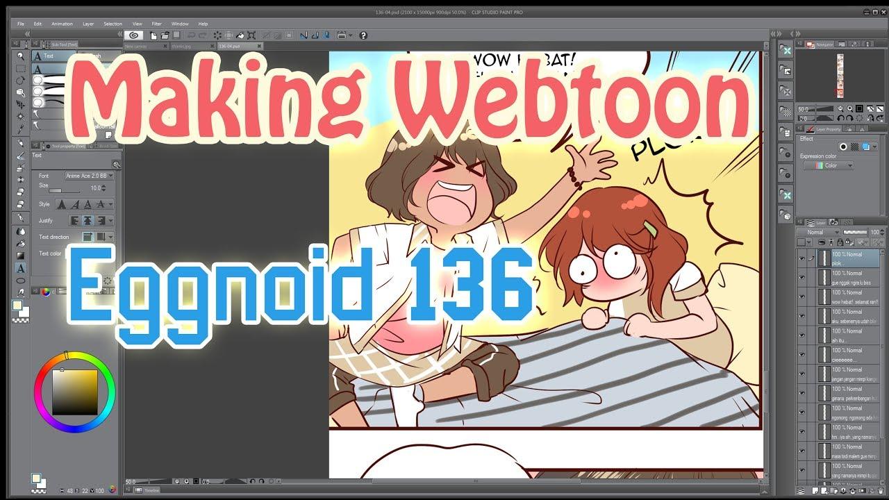 Making Webtoon: Eggnoid 136