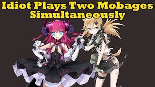 Idiot Plays Two Mobages At the Same Time - FGO and Girls' Frontline