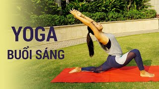 ⭐ Bài tập 30 phút Yoga Buổi sáng - săn chắc cơ thể và mang năng lượng cho cả ngày