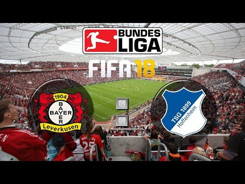 FIFA 18 Bundesliga Bayer 04 Leverkusen : TSG Hoffenheim | Gameplay Deutsch Livestream