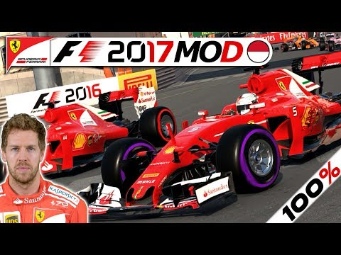100% MONACO SPECIAL (78 Runden?) – F1 2017 Saison Mod German | Sebastian Vettel Karriere #6 Deutsch
