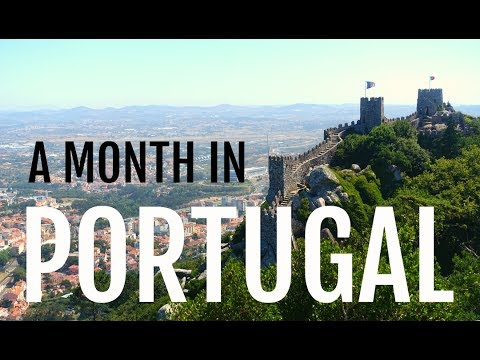 A Month Travelling through Portugal