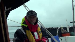 Sailing From Hawaii to Alaska-Day 26: Slow Moving Cold Front